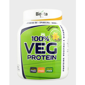 biovita med VEG PROTEIN Vaniglia 750g polvere