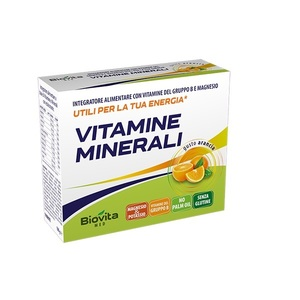 biovita med Vitamine e Minerali 10 buste