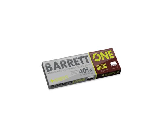 +WATT Barrettone - Barretta ad alto titolo proteico (40%, solo proteine del latte) - barrett'one cacao