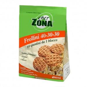 EnerZona - Frollini 40-30-30 - Sacchetto 250g avena