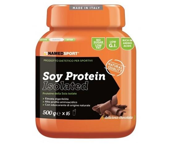 named soy protein proteine soia isolate 500g polvere cioccolato