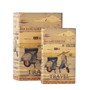 Set 2 scatole porta oggetti travel