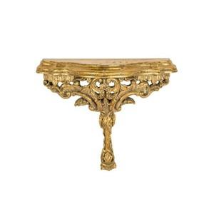 Mensola oro barocco fiori