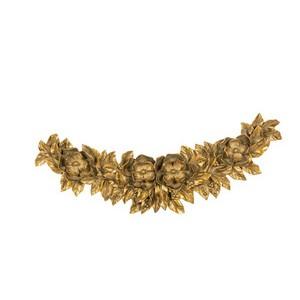 Fregio sopraporta barocco oro