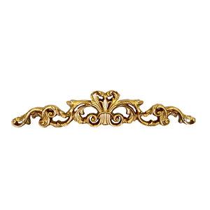 Fregio decorativo sopraporta oro stile barocco