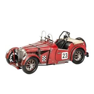 Modellino auto rosso cabrio