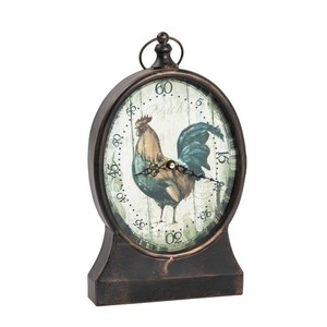 Orologio da appoggio con gallo