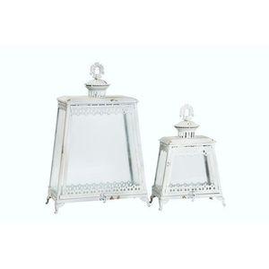 lanterne in ferro bianco