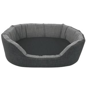 Cuccia modello Living Ring tinta unita Bicolor cesta per cani e gatti cuscino materassino impermeabile sfoderabile lavabile traspirante antimuffa
