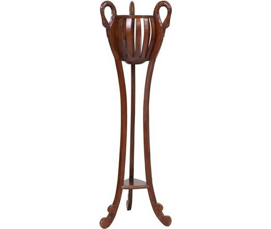Alzata portafiori in legno marrone Stile classico 70x46x92cm