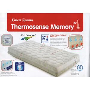 Materasso Lettino Thermosense Memory Questibimbi 60x125x12cm