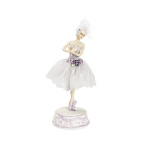 Carillon ballerina danza classica lilla