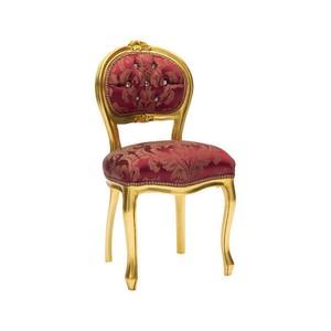 Sedia musicista barocco oro rosso