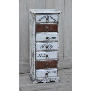 Cassettiera Vintage 7 cassetti
