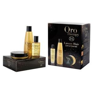 Kit Luxury Hair Treatment - Oro Therapy - Fanola
