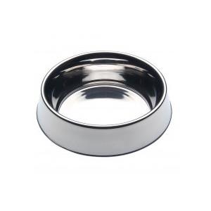 Ciotola in acciaio inox per cani e gatti. Bordo inferiore sollevato MISURA 180
