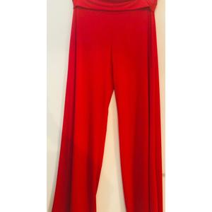 Pantalone Cocktail Rosso Oversize