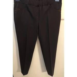 Pantalone Capri Marrone bruciato