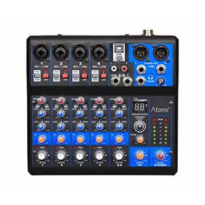 Mixer MIX-S 401 FX audio 6 canali Atomic Pro