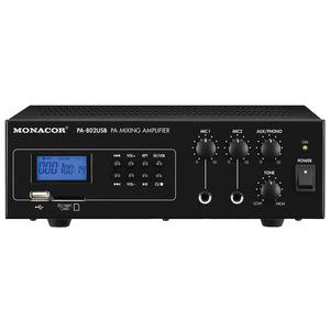 Amplificatore mono Monacor PA-802usb