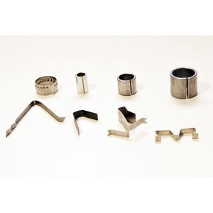 Particolari sagomati in nastro acciaio