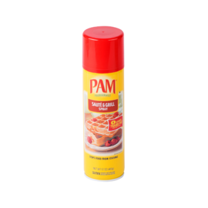 PAM COOKING SPRAY  SAUTE' & GRILL (olio in spray )