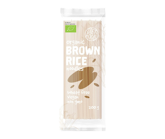 ORGANIC BROWN RICE NOODLES (NOODLES DI RISO INTEGRALE)