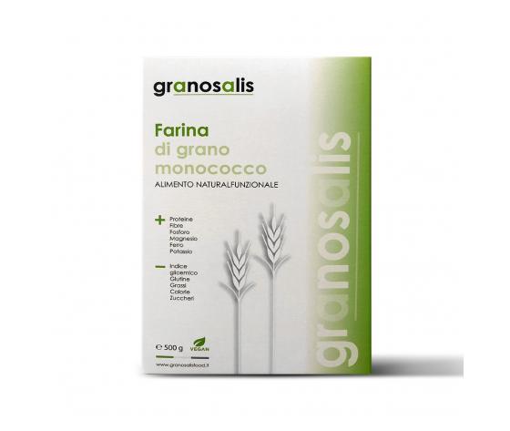 GRANOSALIS-FARINA DI GRANO MONOCOCCO (ALIMENTO NATURAL FUNZIONALE)