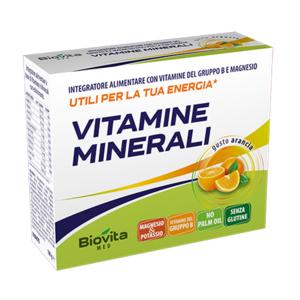 VITAMINE MINERALI  (con vitamine del gruppo B)