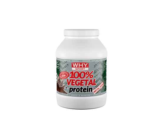 100% proteine vegetali , senza proteine della soia.
