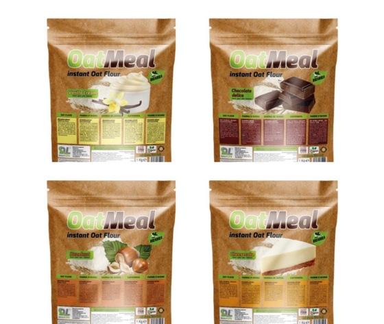 OATMEAL  farina d'avena aromatizzata 1kg