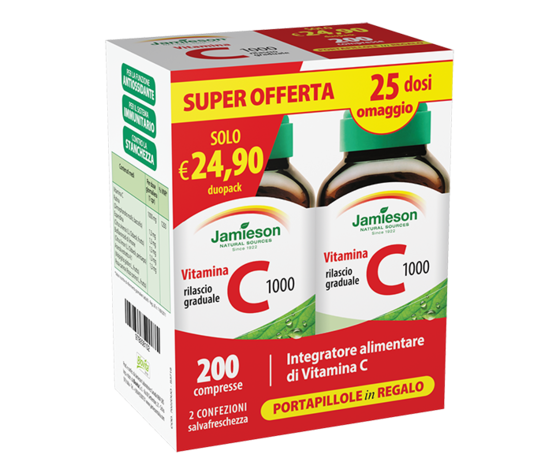 VITAMINA C RILASCIO GRADUALE (box convenienza)