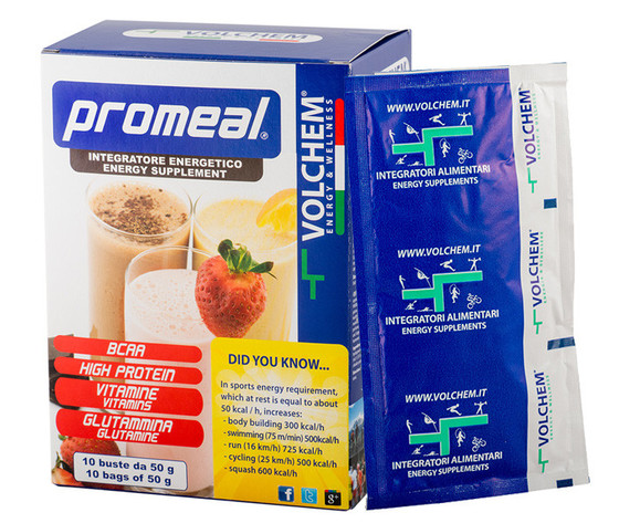 VOLCHEM-PROMEAL WORKOUT GAINER (pasto sostitutivo in buste)