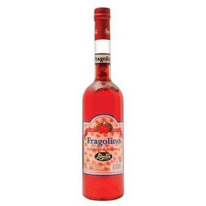 Liquore dolce di fragola con fragoline di bosco intere all'interno 50 cl.