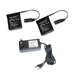 Kit batterie guanti e calze 7,4 volt - 2,2A Klan