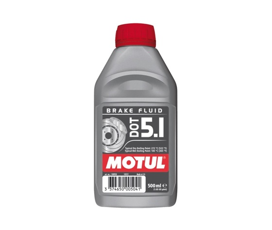 Olio Freni DOT 5.1 100% Sintetico Motul