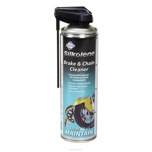 BRAKE & CHAIN CLEANER SILKOLENE 500 ML.