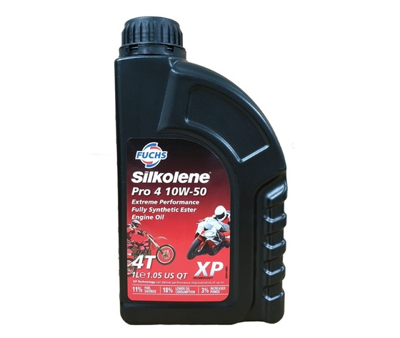 PRO 4 XP 10W50 SILKOLENE OLIO SINTETICO 4T