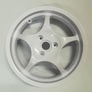 Cerchio posteriore bianco Yamaha Aerox 50 3C6F53381000