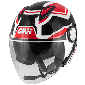 12.3 STRATOS SHADE JET GIVI WHITE/BLACK/RED