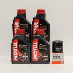 Kit cambio Olio Yamaha 5GH-13440-70 + Motul 7100