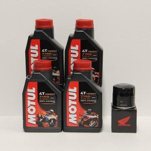 Kit cambio Olio Honda 15410MCJ505 + Motul 7100