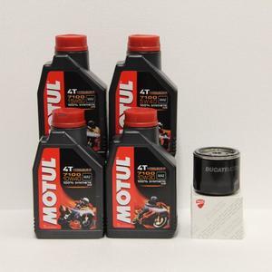 Kit cambio Olio Ducati 44440038A + Motul 7100