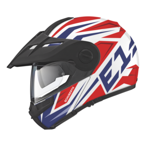 E1 TUAREG Red Schuberth