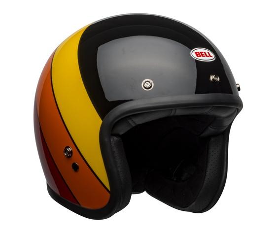 Bell JET Custom 500 DLX RIF Black/Yellow/Orange/Red