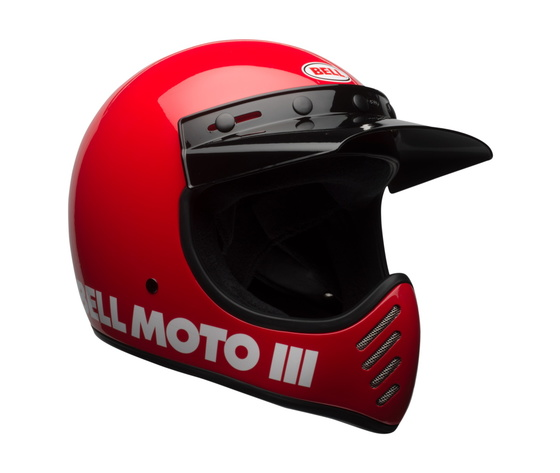 MOTO-3 BELL CLASSIC GLOSS RED