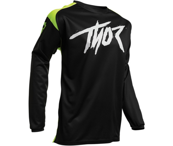 Maglietta Thor Sector Link Nera / Gialla