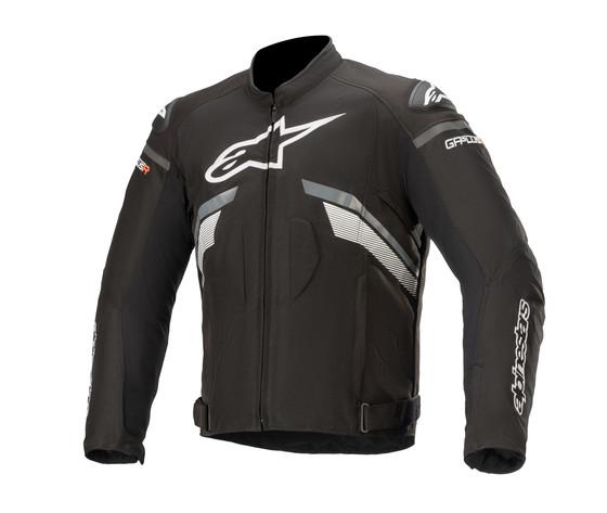 T-GP PLUS R V3 WP Giacca moto invernale Alpinestars Nero Bianco