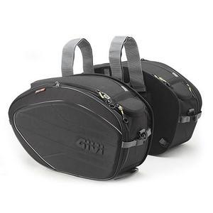 EA100B Coppia di borse laterali grandi espandibili