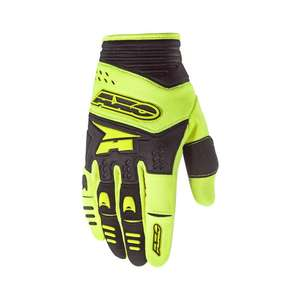 GUANTO PADLOCK GLOVE AXO  YELLOW/BLACK